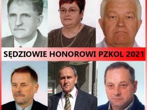 Sędziowie Honorowi 2021